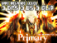 Primary 3DPS - WOD Beta 100 LV PVP